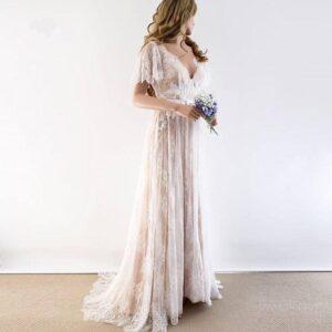 Robe de Mariage Bohème Romantique Maelys