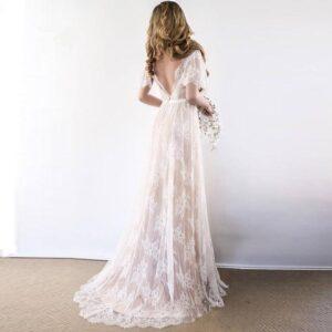 Robe de Mariée Bohème Romantique Maelys