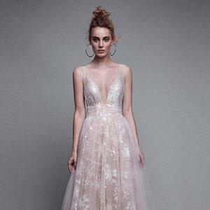 Charlie Robe de Mariée Bohème Chic