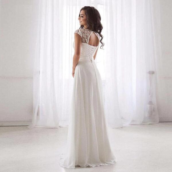 Robe De Mariée Bohème Dhalia Romantique
