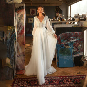 Robe de Mariée Bohème Vintage Ilyana