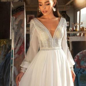 Robe Mariée Vintage Bohème Ilyana