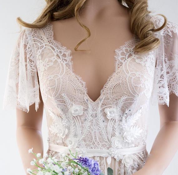Robe Mariage Bohème Romantique Maelys