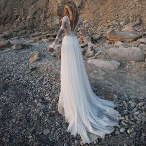 Salomé Robe de Mariée Vintage Bohème