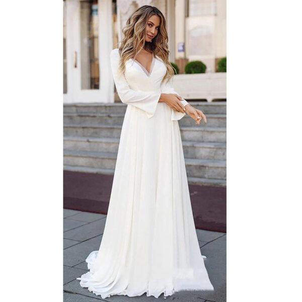 Robe Mariage Bohème Livia Romantique